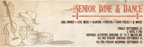 Senior Dine & Dance