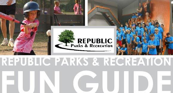 Republic Parks & Recreation April Fun Guide