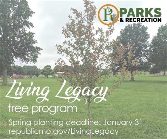 Living Legacy Tree Program
