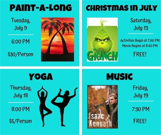 Amp Events in July