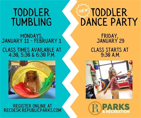 January Toddler Programs