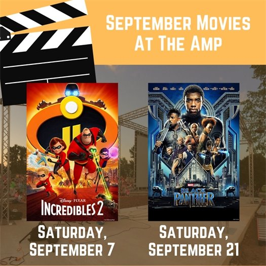 September Movies at The Amp