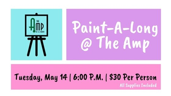 Paint-A-Long at The Amp