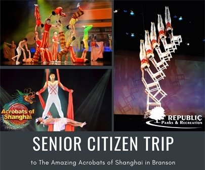 Senior Trip to see The Amazing Acrobats of Shanghai
