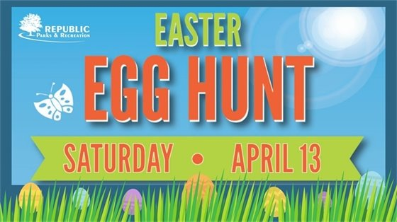Easter Egg Hunt Saturday, April 13