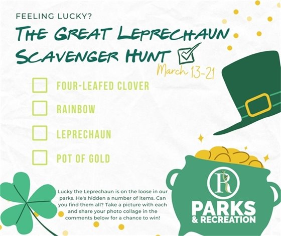 The Great Leprechaun Scavenger Hunt