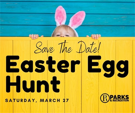 Easter Egg Hunt - Save the Date