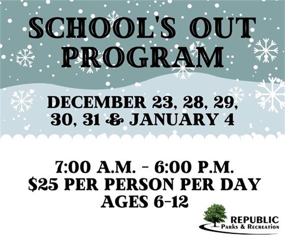 School's Out Program