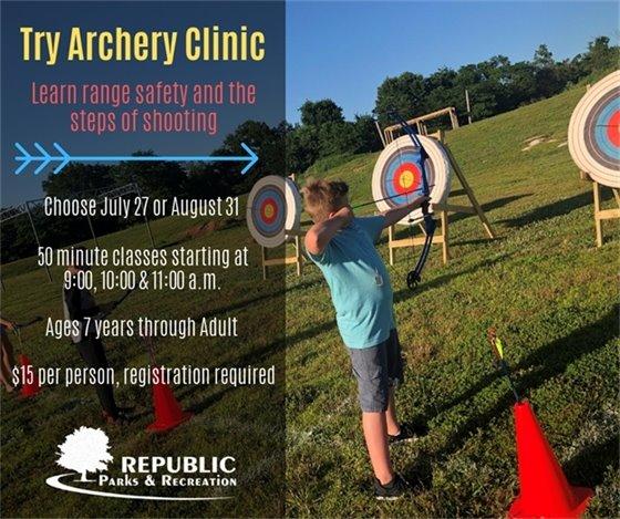 Try Archery Clinic