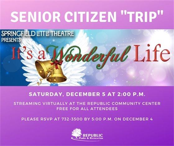 Senior Citizen Trip