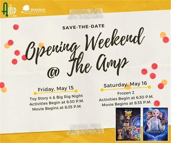 Amp Opening Weekend