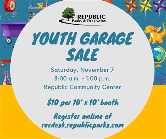 Youth Garage Sale