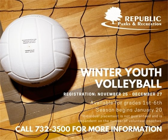 Winter Youth Volleyball