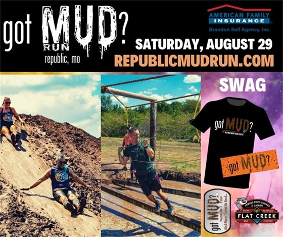 got Mud? Run (Adults Only) - Saturday, August 29