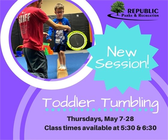 Toddler Tumbling