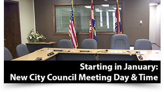 City Council Date Change